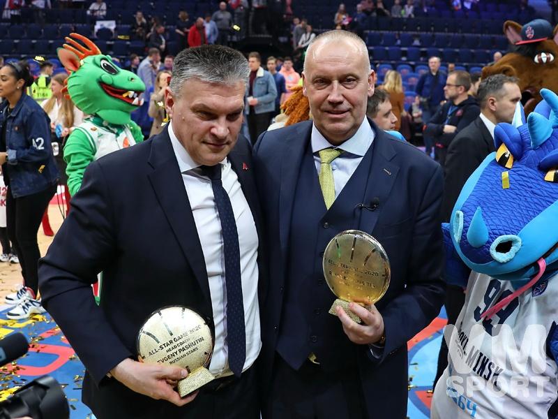 Матч Всех Звёзд Единой лиги ВТБ прошёл в Москве на ВТБ Арене в Петровском парке