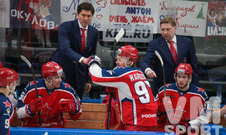 Игорь Никитин: «Мы будем рады, если Капризов станет лучшим снайпером плей-офф»