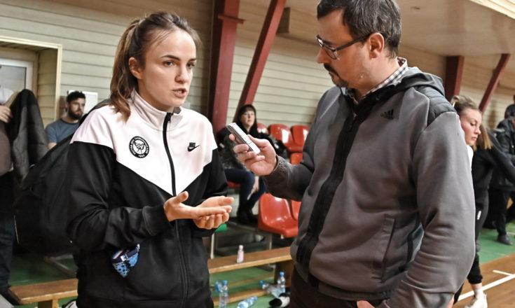 Анна Вяхирева: «У нас есть все шансы успешно сыграть в Лиге Чемпионов»