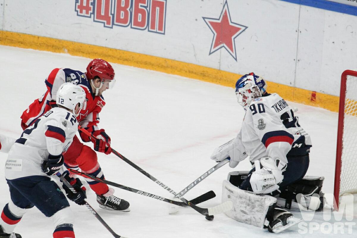 ЦСКА одержал вторую победу в розыгрыше Кубка Гагарина. До трофея осталось ещё четырнадцать