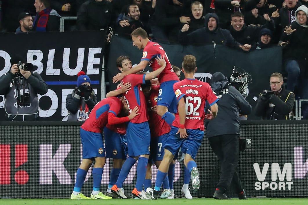 Красивый гол Фернандеса спасает ЦСКА от поражения