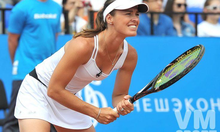 Мартина Хингис – теннисная красотка из Швейцарии