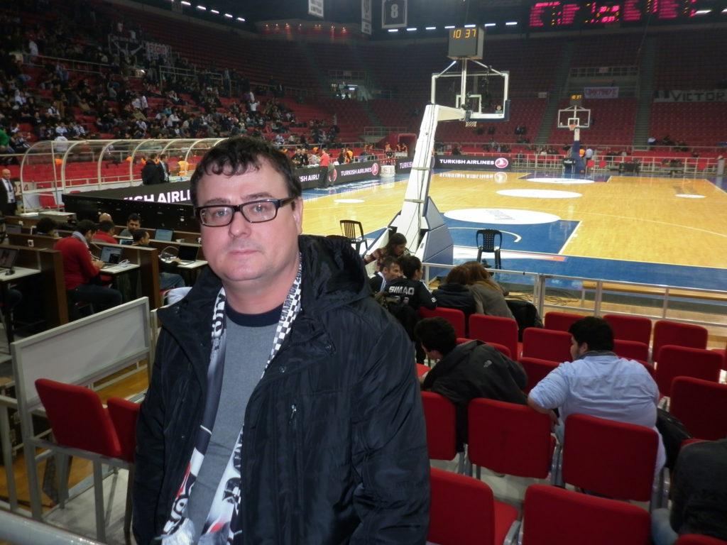 А вот была поездочка. Стамбул. Баскетбол. Евролига.