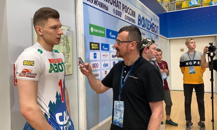 Ярослав Подлесных стал игроком волейбольного клуба «Динамо» Москва!