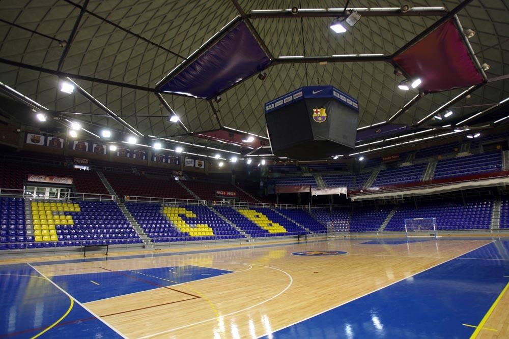 Финал четырёх Лиги чемпионов УЕФА по мини-футболу пройдёт в Барселоне