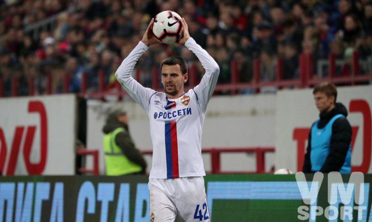 Георгий Щенников выбыл из строя из-за перелома руки