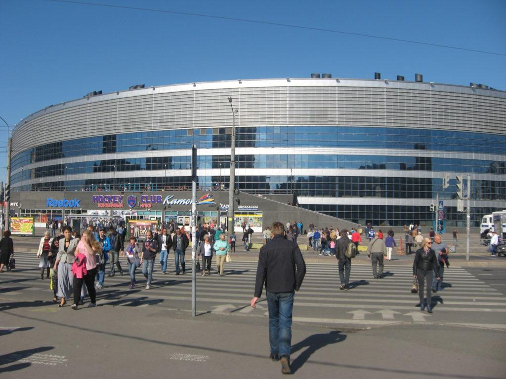 А вот была поездочка! Санкт-Петербург. КХЛ. Часть первая.