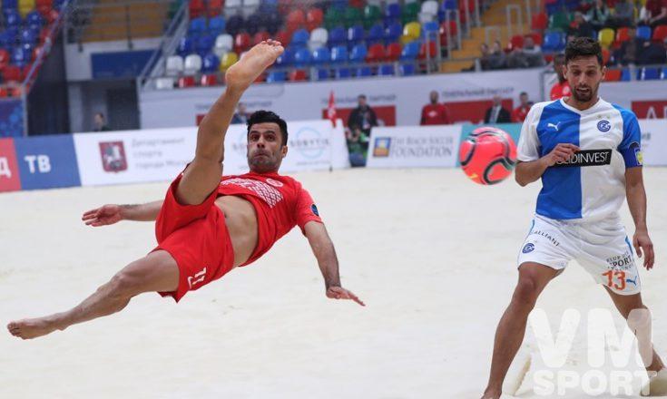 Чемпионат России по пляжному футболу стартует 15 июля