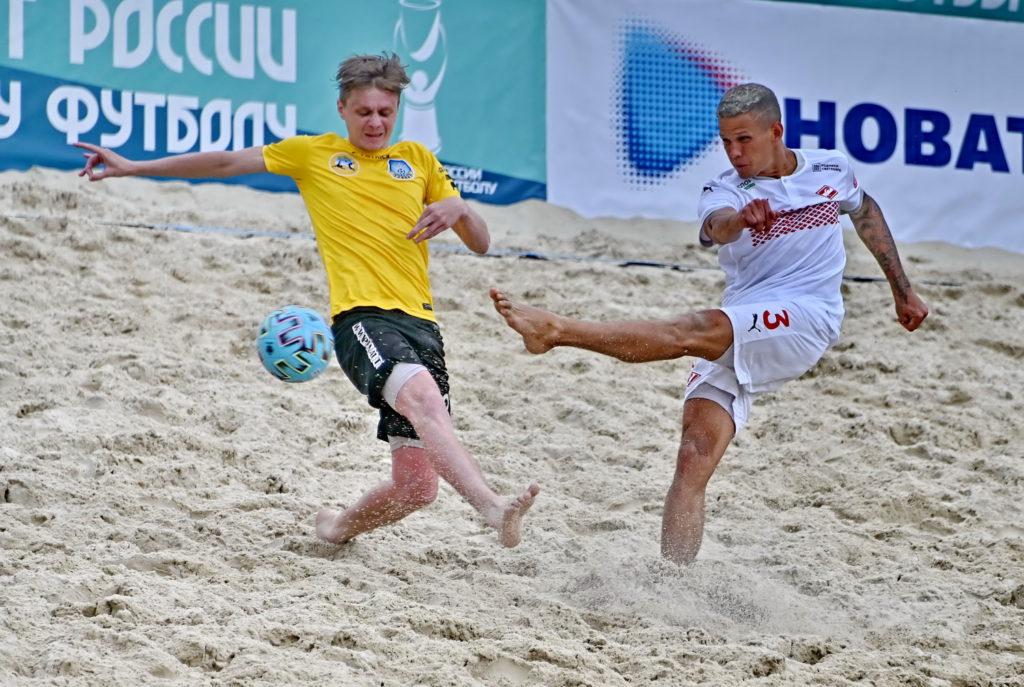 Пляжный футбол: начало положено!