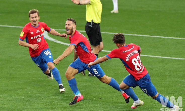 Два мяча Николы Влашича помогли ЦСКА одержать победу в главном дерби страны