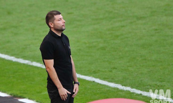 Мурад Мусаев: «Нам не хватило мощности и общего давления во второй половине матча»