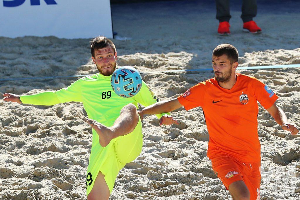 Суперфинал чемпионата России по пляжному футболу пройдёт в Санкт-Петербурге