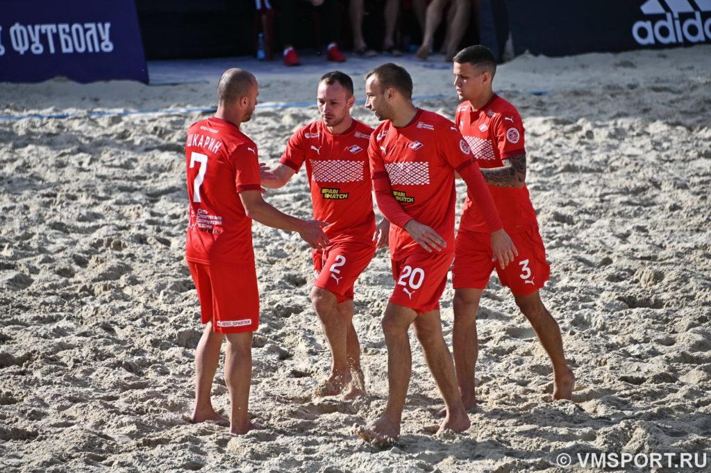 «Кристалл» - пятикратный победитель Кубка России по пляжному футболу