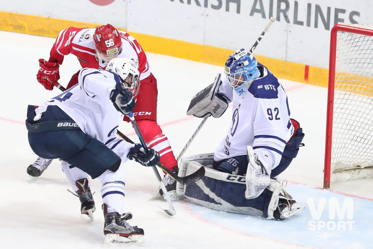МХК «Спартак» вновь берёт верх над Питером – на этот раз над «Динамо»