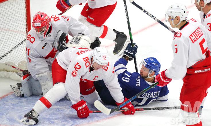 «Динамо» берёт жестокий реванш у «Спартака»