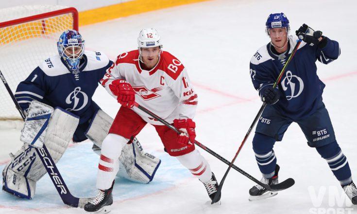 «Динамо» vs «Спартак»  - хоккейное дерби в Петровском парке