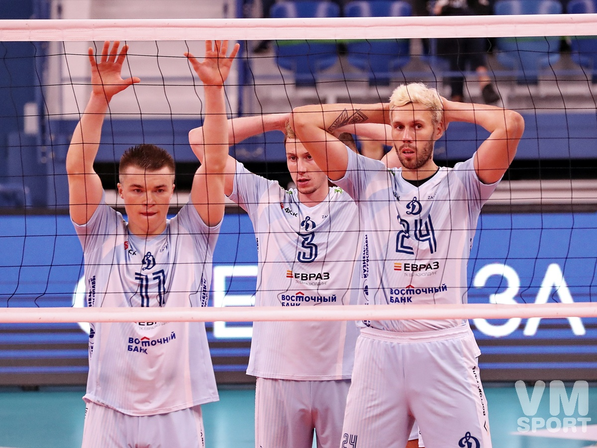 Чемпионат России по волейболу откроют «Динамо» и «Нефтяник»