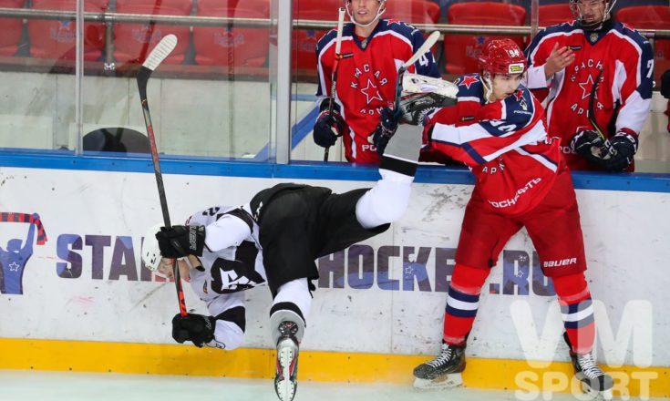 «Красная Армия» вновь сильнее «Риги». И опять крупно.