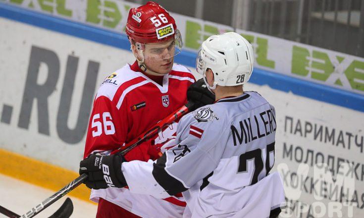 Молодёжка возвращается: 5 и 6 сентября МХК «Спартак» примет ХК «Рига»