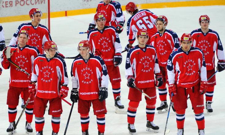 «Красная Армия» переигрывает команду армейской легенды