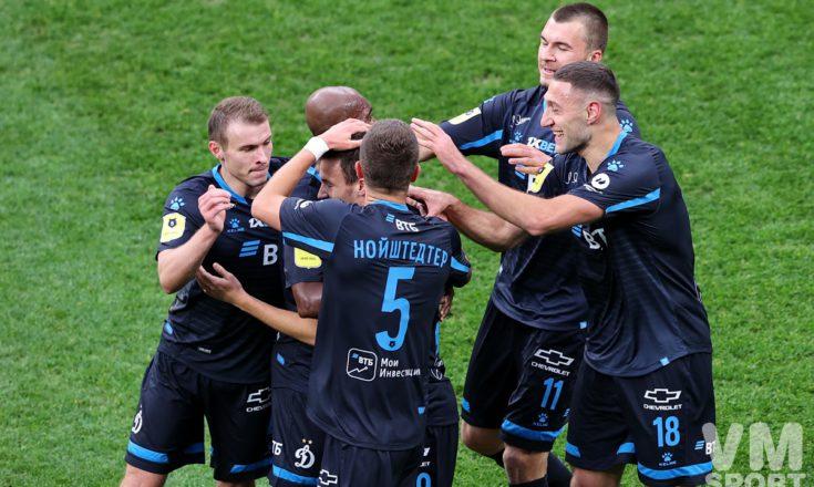 «Динамо» в чёрном обыгрывает «Сочи» в первом матче Шварца