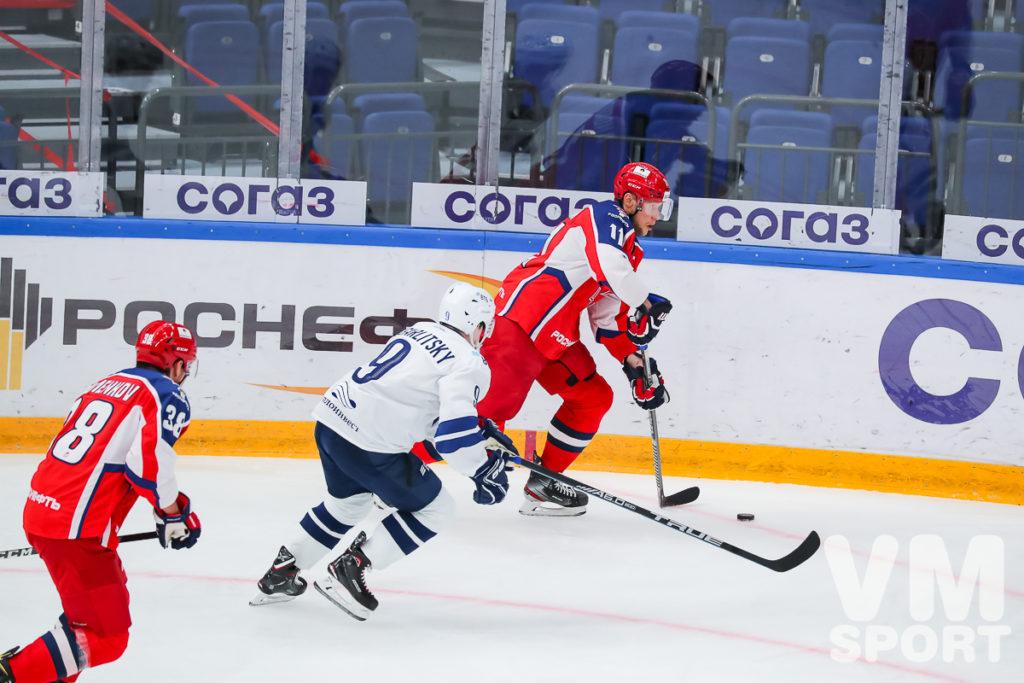 ЦСКА берёт верх над «Динамо»