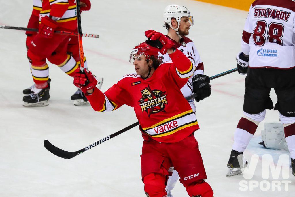 Рижское «Динамо» обыграло «Куньлунь» в овертайме!
