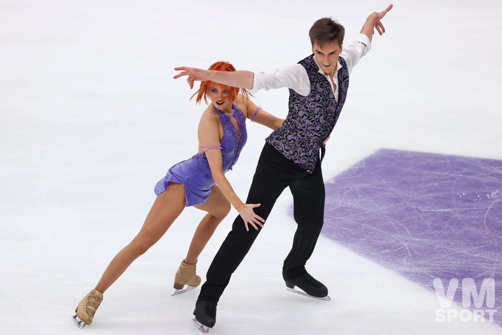 Синицина и Кацалапов выиграли ритм-танец на московском этапе Гран-при  ИСУ