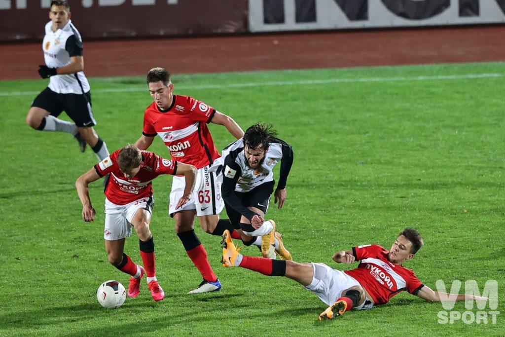Супергол Рязанцева приносит победу «Торпедо» в столичном дерби со «Спартаком-2»