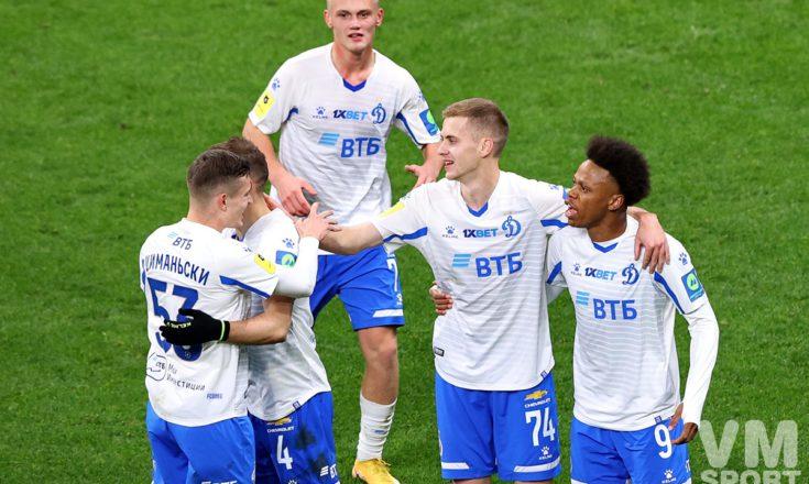 А это «Динамо» нравится всё больше и больше!
