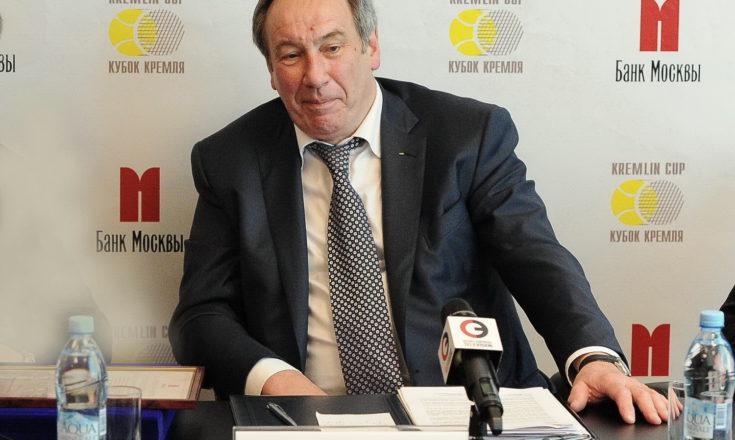 Президентом Федерации Тенниса России избран Шамиль Тарпищев
