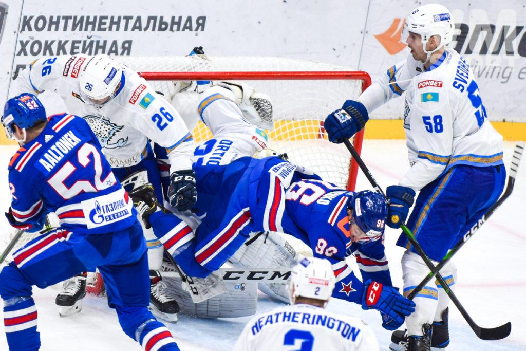 """СКА завершает домашнюю серию победой над """"Барысом"""""""