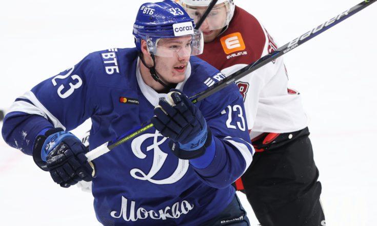 Яшкин делает хет-трик, рижское «Динамо» крупно уступает московскому
