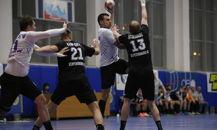 Чеховские гандболисты сразятся с командой из Северной Пальмиры