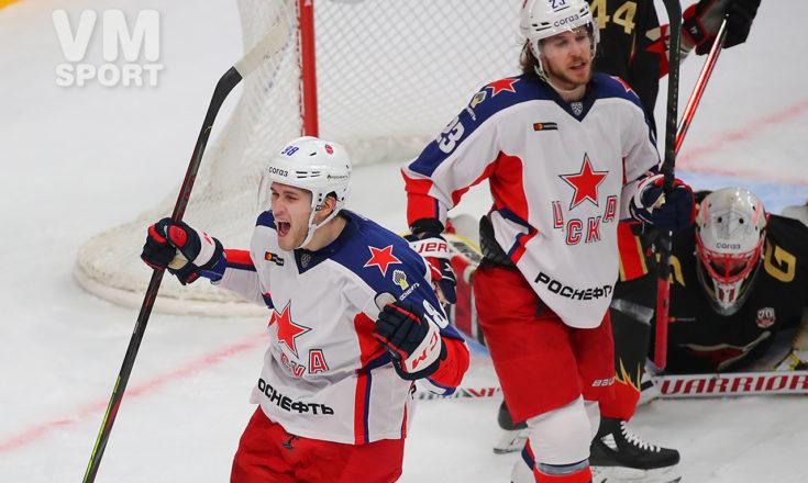 ЦСКА крупно берёт верх над «Авангардом»