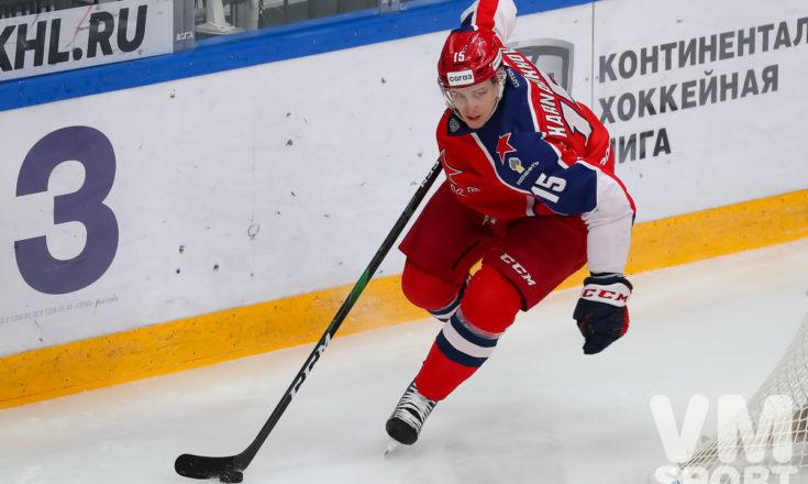 """Павел Карнаухов: """"Соперник доставил нам трудности при игре в меньшинстве"""""""
