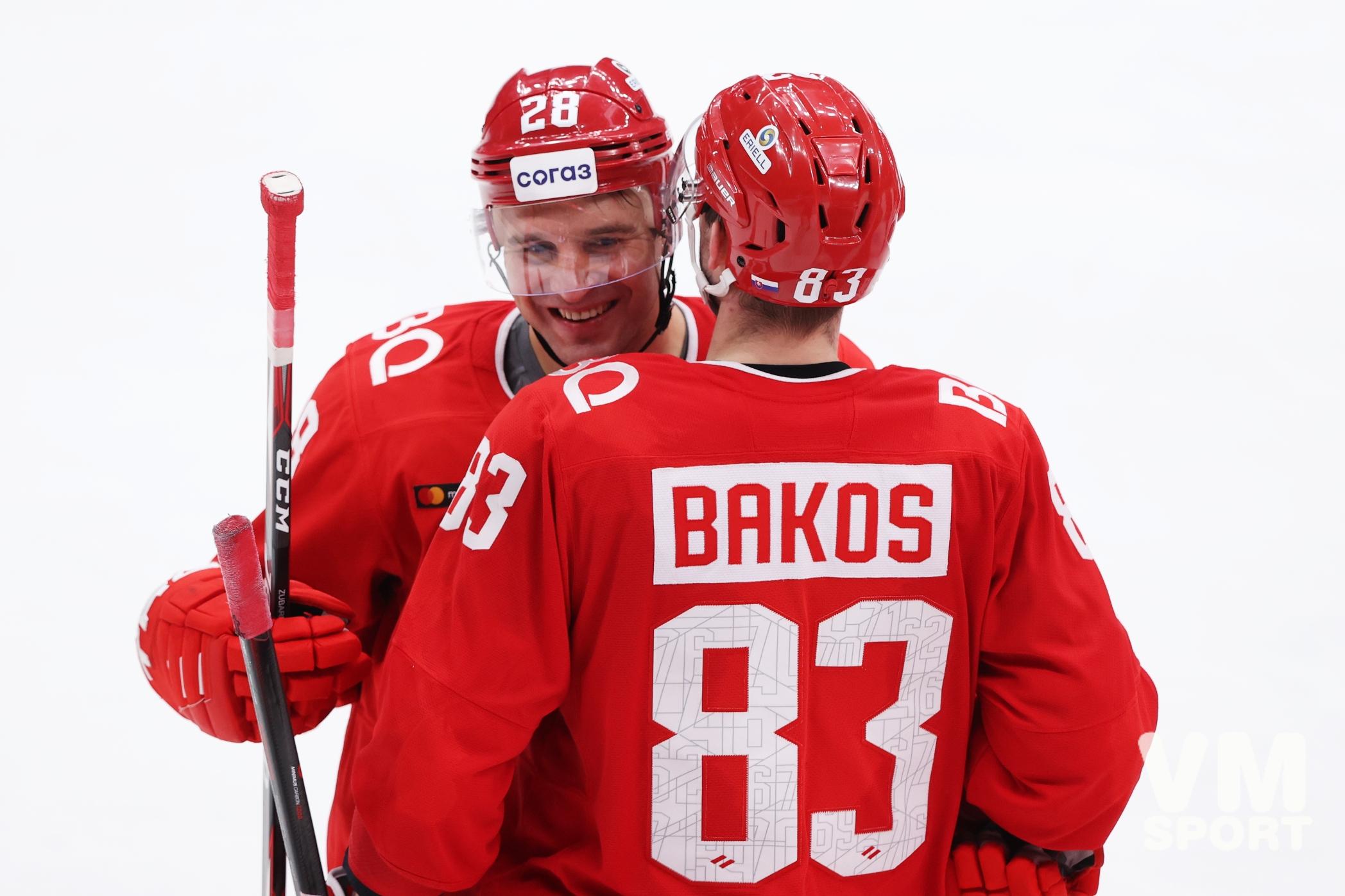 Бакош приносит «Спартаку» победу над «Йокеритом»
