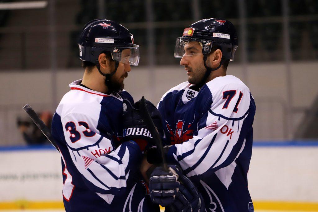 ВХЛ в Красноярске: «Рязань» прерывает свою черную серию и побеждает местных «Соколов»