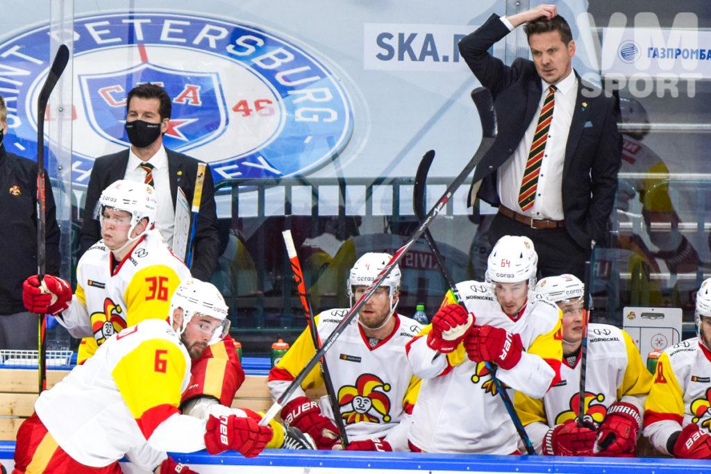"""СКА завершил хоккейную осень поражением от """"Йокерита"""""""
