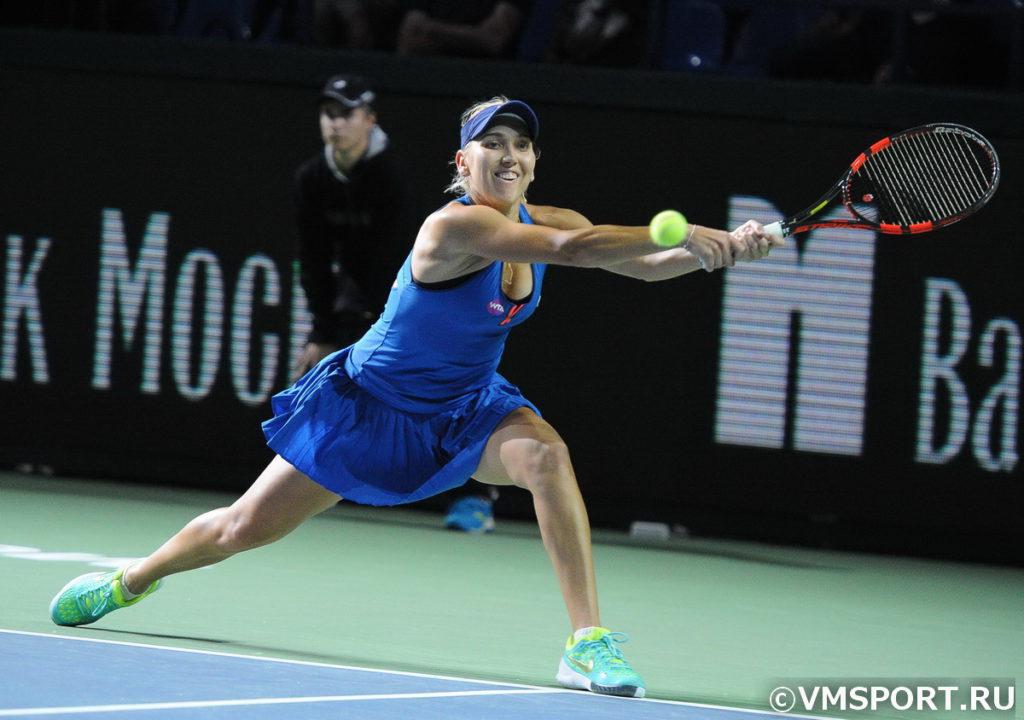 Елена Веснина объявила о возвращении в профессиональный теннис