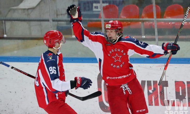 Никита Полтапов. ХК Красная Армия