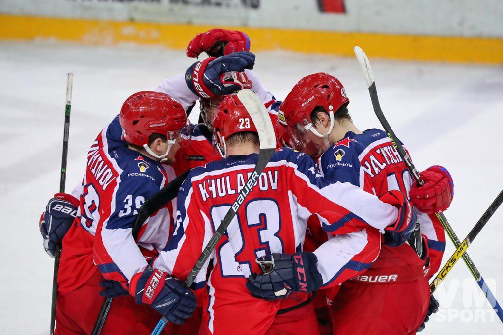 ХК Красная Армия-ХК СКА-Варяги
