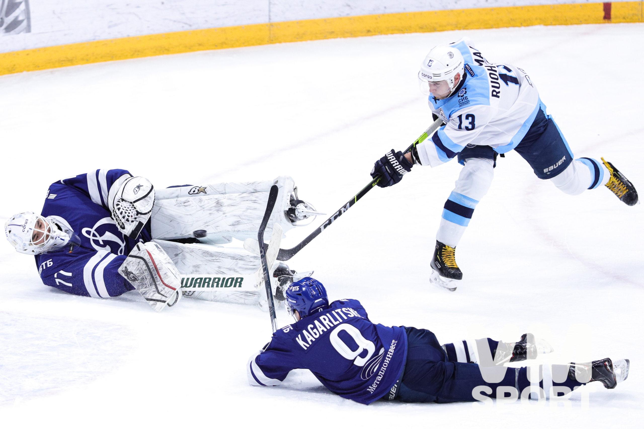 «Сибирь» с характером, «Динамо» без победы
