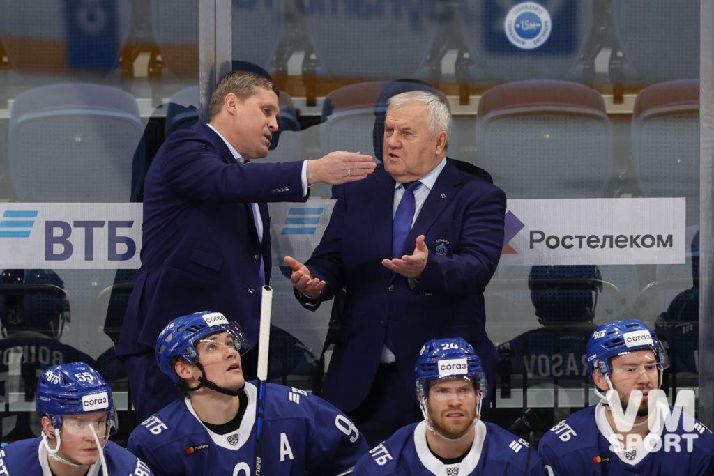 Андрей Скопинцев и Владимир Крикунов. ХК Динамо
