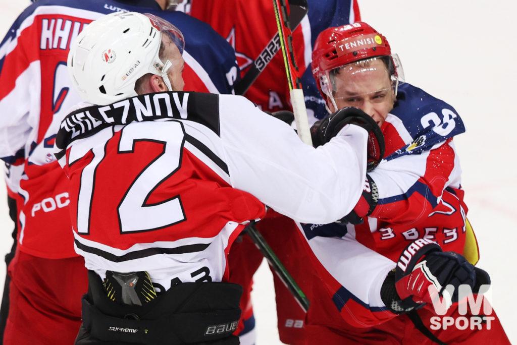 Звёзды Чебатуркина спасают игру с «Кузней» в хоккейном марафоне
