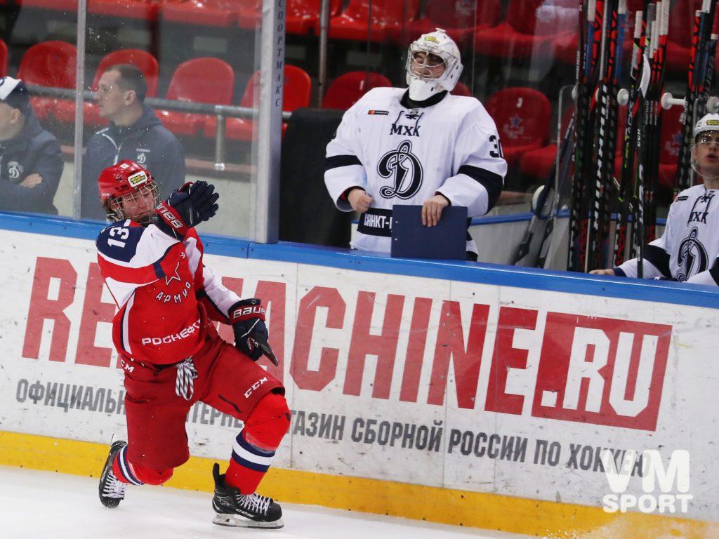 Вечер Полтапова - не сделаешь хет-трик, пока два раза не удалишься и победа «Красной Армии»