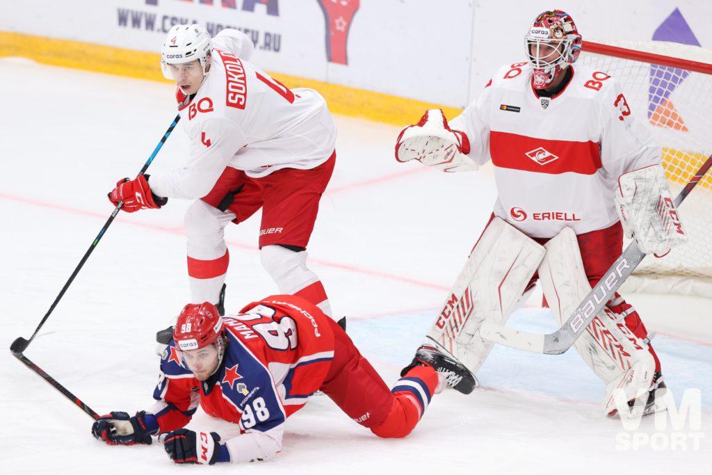 ЦСКА вырывает победу у «Спартака» в меньшинстве