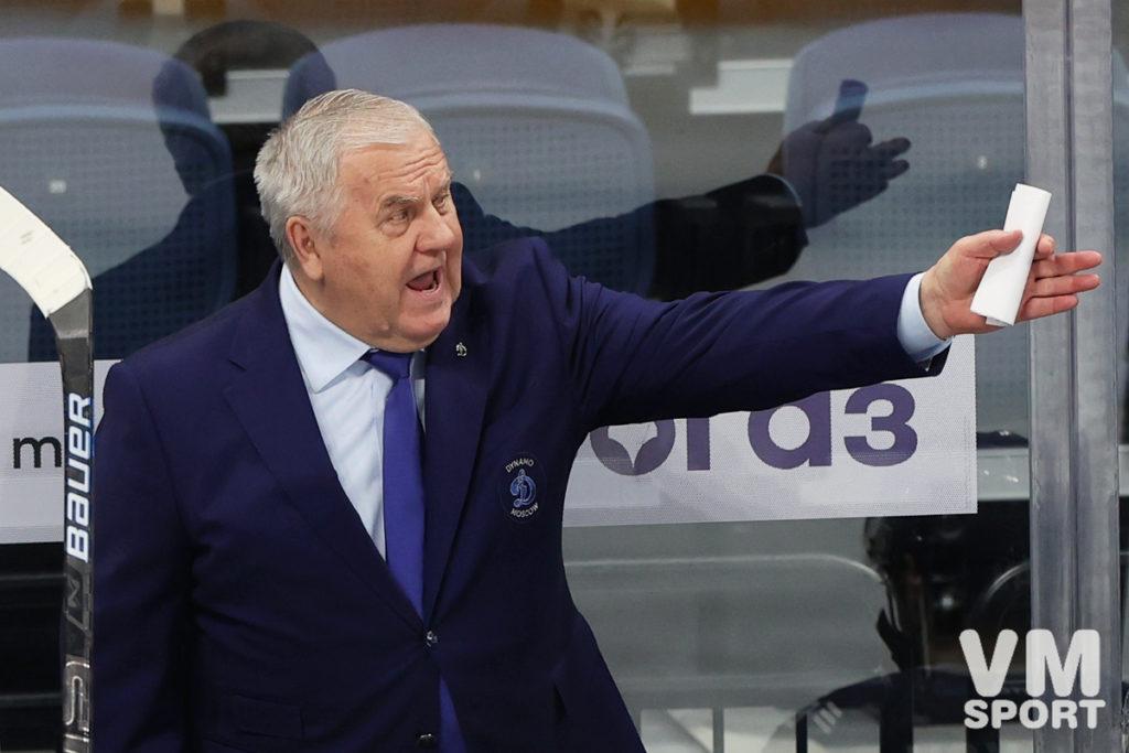 Владимир Крикунов. ХК Динамо