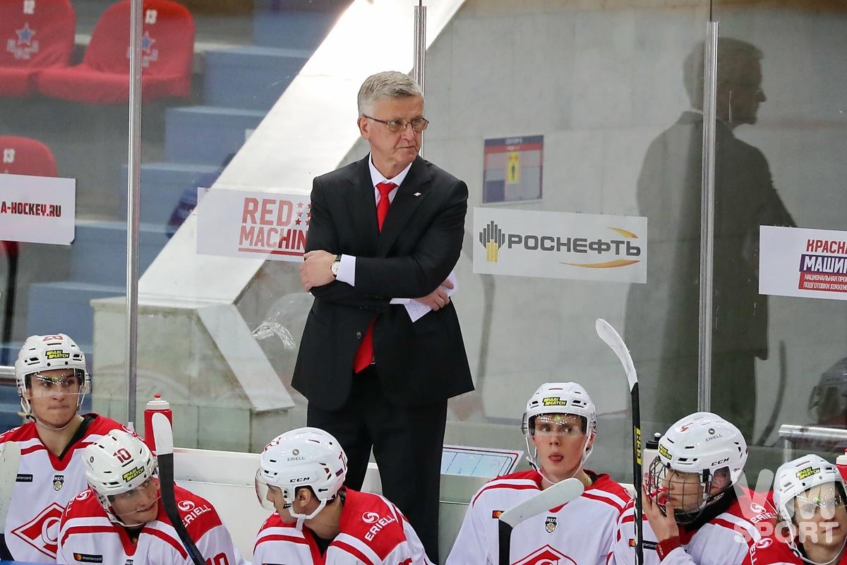 МХК «Спартак» - «Русские Витязи»: битва внутри кубковой восьмёрки