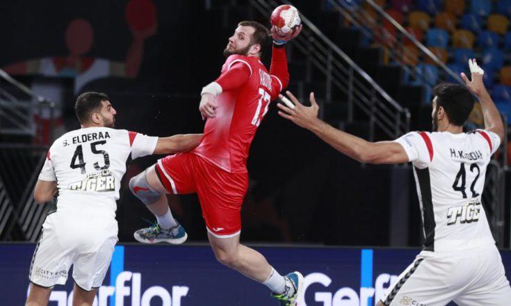 Россия-Египет. Чемпионат мира по гандболу
